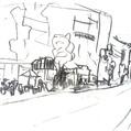 喫茶店と道