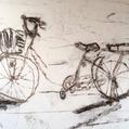 朝の自転車