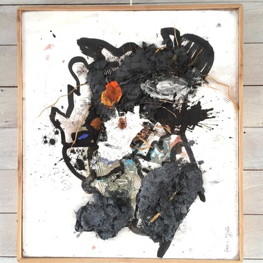 1604.「花と私と麦わら帽子」