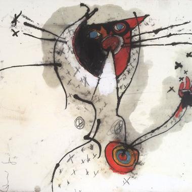 1892.「猫、渦」