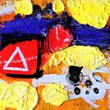 絵画:「窯」ギャラリーに追加しました。