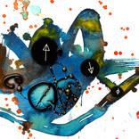 アート書道:「上下する水面」ギャラリーに追加しました。