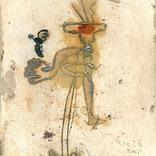 絵:「鳥と猿」ギャラリーに追加しました。