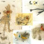 東佑樹画猿のポストカード5枚組追加しました。