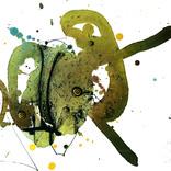 アート書道:「書、無題、7」ギャラリーに追加しました。