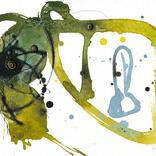 アート書道:「書、無題、8」ギャラリーに追加しました。
