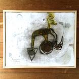 絵:「花、根っこ」、「星空、2」ギャラリーに追加しました。