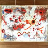 アート書道:「書、無題、天然三代、樹」 ■絵:「夕焼け、18,19」ギャラリーに追加しました。