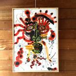 絵:「太陽、人、6」ギャラリーに追加しました。