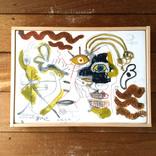 絵画:「けんかしてる友人」ギャラリーに追加しました。