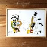 絵画:「友達」他3点ギャラリーに追加しました。