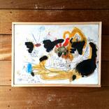 絵画:「太陽、人、14」ギャラリーに追加しました。