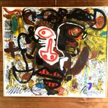 絵画:「太陽、人」「ねこ、しっぽ」「星空」スケッチ:「アトリエ」ギャラリーに追加しました。