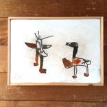 絵画:「生き物たち、1」ギャラリーに追加しました。