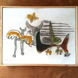 絵:「生き物たち、3」ギャラリーに追加しました。