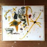 絵:「星空、16」「光たち、虹、5」ギャラリーに追加しました。