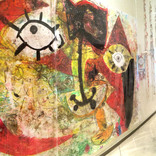 絵:「三角たちの行進、3」・「太陽、人、14」ギャラリーに追加しました。