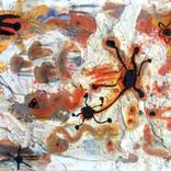 絵:「踊っている女性」、「夕焼け32,33,34」ギャラリーに追加しました。