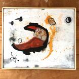 絵:「月、女、星空」「夕焼け、35」ギャラリーに追加しました。