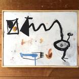 絵:「三角たちの行進、11」ギャラリーに追加しました。