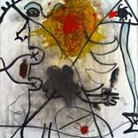 絵:「空と人」「太陽、人、22」ギャラリーに追加しました。
