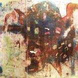 絵:「燃えてるタコ」ギャラリーに追加しました。