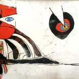 「1296.猫、渦」ギャラリーに追加しました。