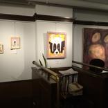 ルコタージュさんでみらい畑第11回展示会の設営をしました。