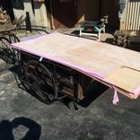 総合住宅(株)さんから木材を御支援頂きました。