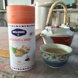 幸膳さんにお茶をいただきました。