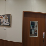 ファミリーマート笠幡駅東店さんで絵を展示が始まりました。