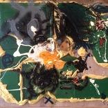 1943.「カラフルな食卓を囲む友と敵。」他1点ギャラリーに追加しました。